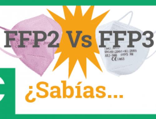 ¿Sabías… la diferencia entre FFP2 y FFP3?