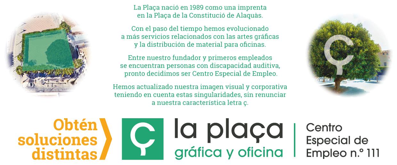 nueva imagen corporativa y visual de La Plaça